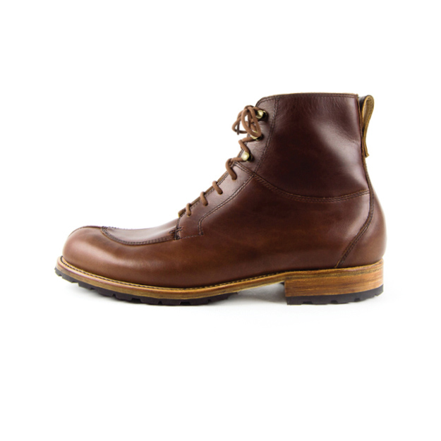 Men's Brown Cooper Boot | Cord Shoes + Boots