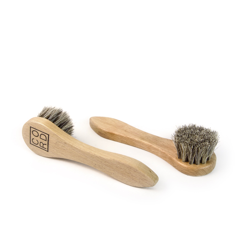Horsehair-Bristle Dauber Brush | Accessory | Cord Shoes + Boots