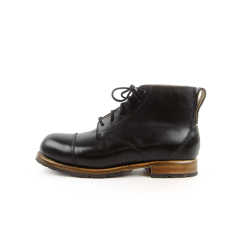 Women's Black Mercer Boot | Cord Shoes + Boots