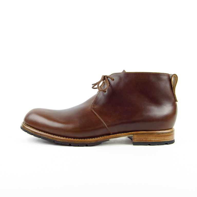 Men's Easton Boot in Brown | Cord Shoes and Boots | Made in the USA