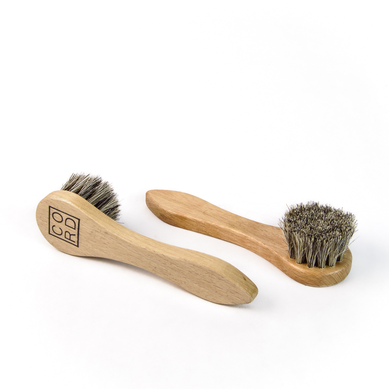 Horsehair Dauber Brush | Cord Shoes and Boots | Made in the USA