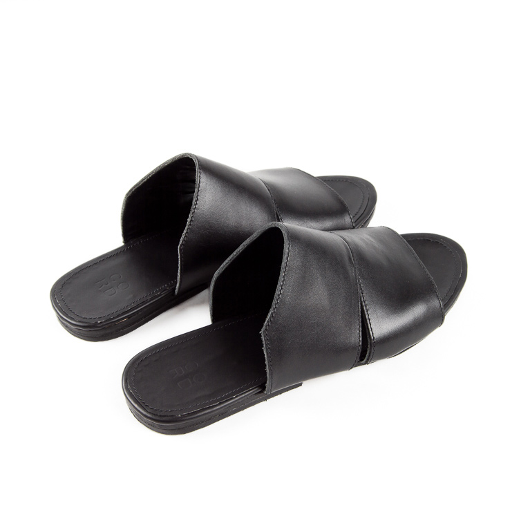 Women's Midcity Sandal in Black | Cord Shoes and Boots | Made in the USA