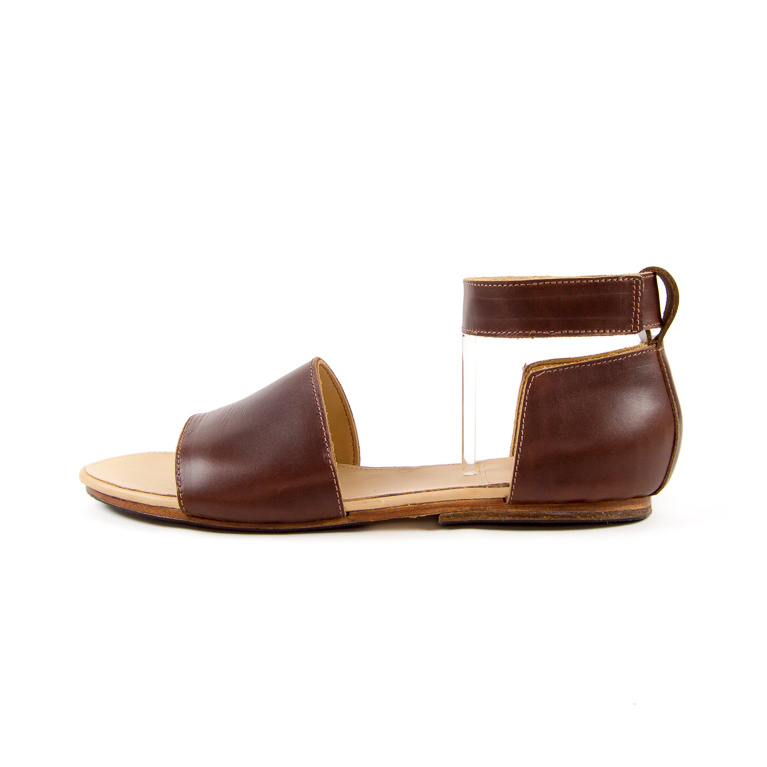 Women's Portage Sandal in Brown | Cord Shoes and Boots | Made in the USA